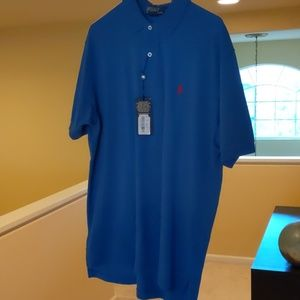 NWT  Men's Polo in Blue